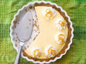 No Bake Dreamsicle Pie