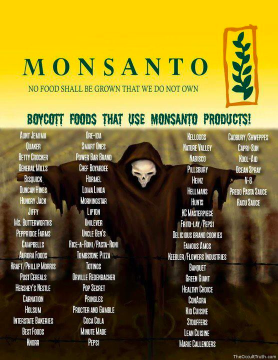 genetically modified foods  u0026 list of gm grocery
