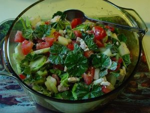 Mallow salad