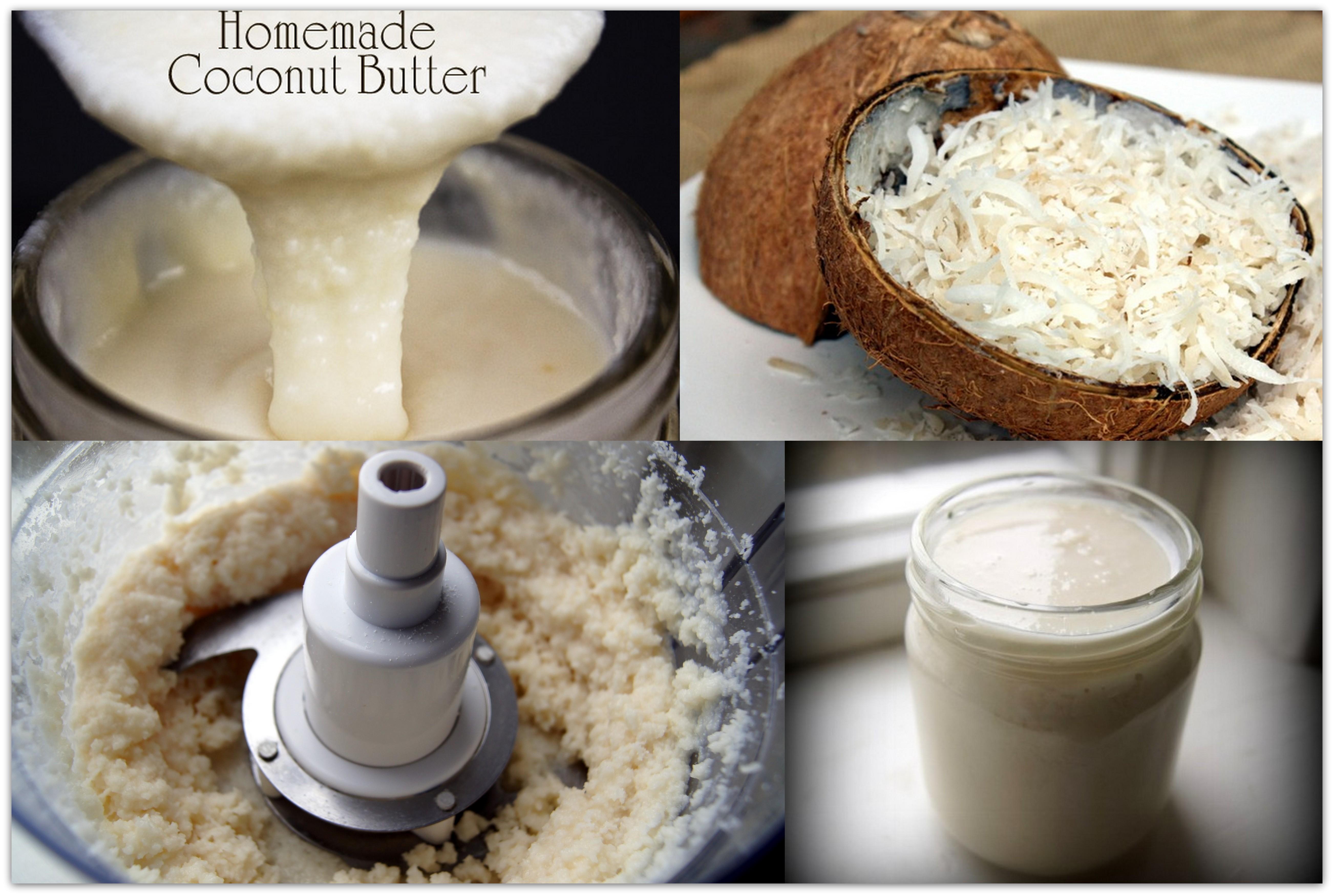DIY Homemade Coconut Butter   ByzantineFlowers
