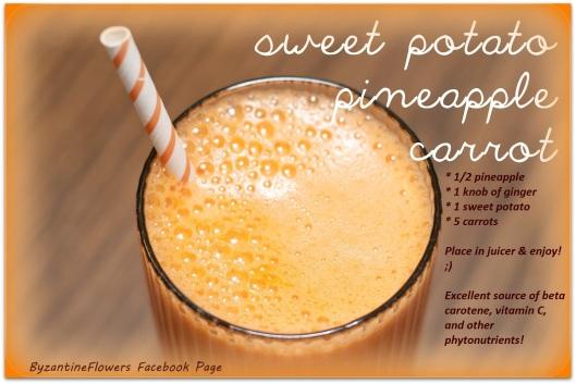 Sweet Potato Bisque Amp Power Juice Recipes Byzantineflowers