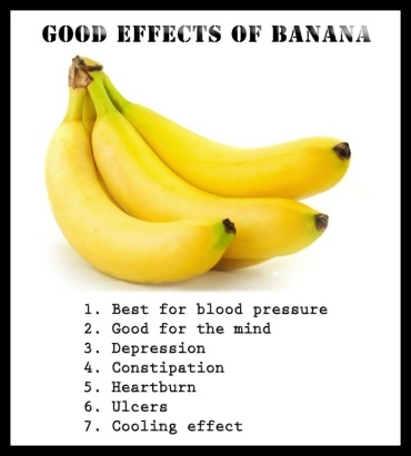 A banana/fresh fruit first thing in the morning ...