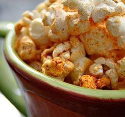 Spicy Tumeric Popcorn
