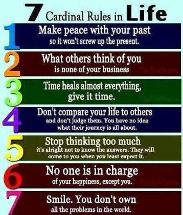 7 rules