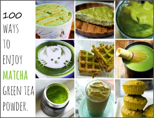100 ways to enjoy Matcha