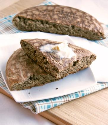 quinoa buckwheat skillet bread2